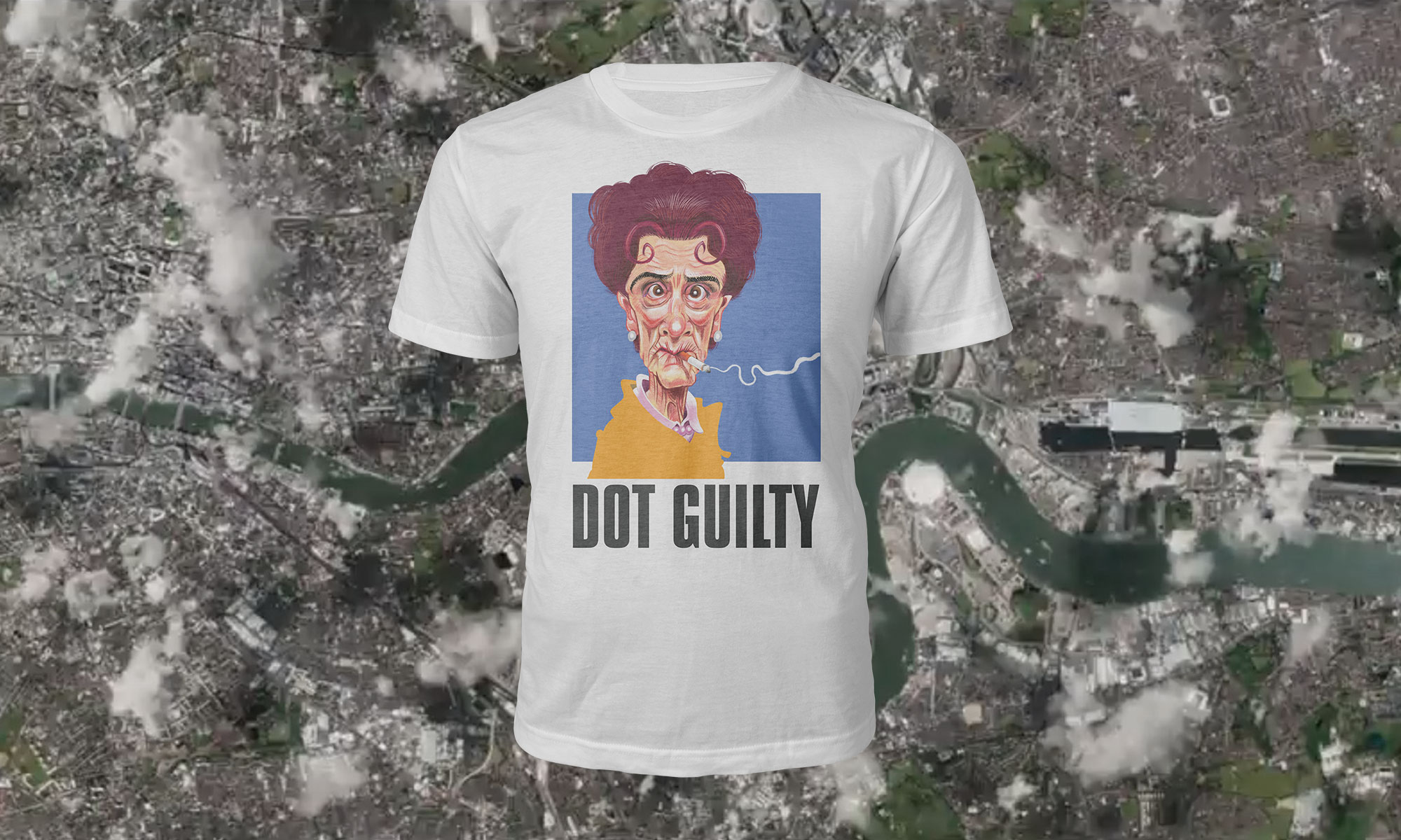 East Enders Dot Guilty T Shirt