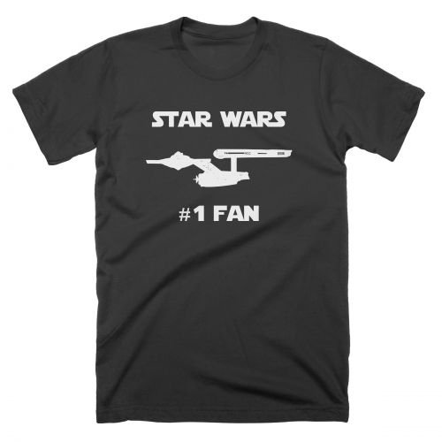 Star Wars Number 1 Fan T Shirt T Shirts From More T Vicar