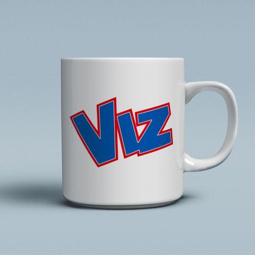 viz logo mug t shirts from more t vicar