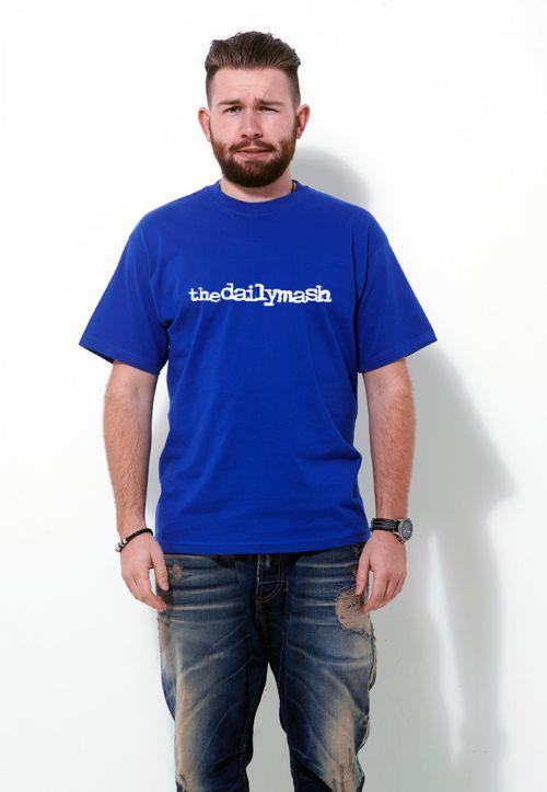 bb8db44c84 The Daily Mash Logo T Shirt | T Shirts from More T Vicar