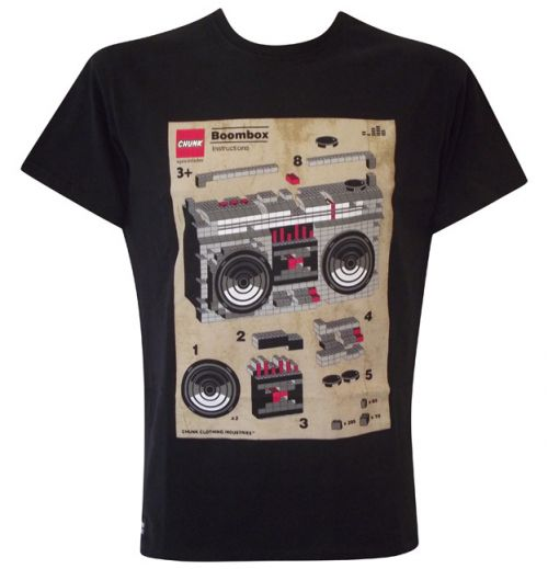 Build your own boombox mens black t shirt t shirts from Build your own t shirts