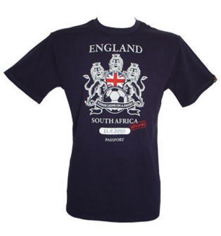... England Football Passport Mens T Shirt T Shirts from More T size 40  2c436 7d859 ... f576da009