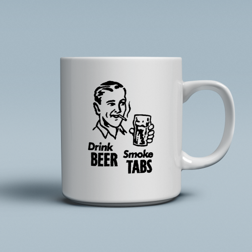 Drink Beer Smoke Tabs