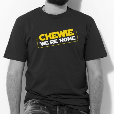 1e8919ea Chewie We're Home T Shirt   T Shirts from More T Vicar