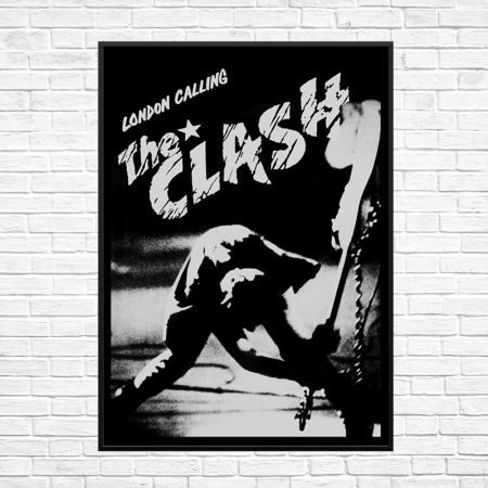 04e3c5d7fc The Clash London Calling Poster Print